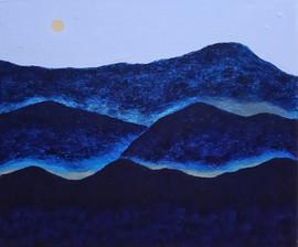 새벽산 Mountain at dawn