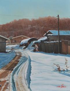 고기리의 겨울아침 Winter morning of Gogi-ri