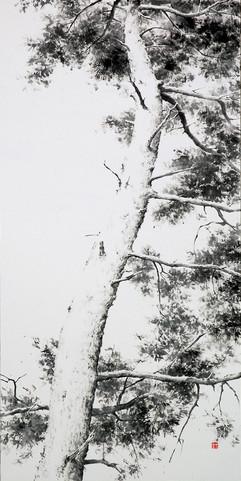65.1×100cm, 2012 한지에 수묵 Muk on korean paper