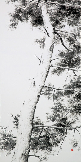 65.1×100cm, 2012 한지에 수묵 Muk on korean paper