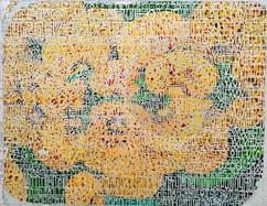카세올라리아 & 도형, 자음 Calceolaria & a figure, consonant