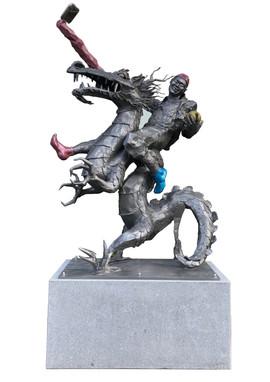 용을 탄 도깨비 Dokkebi on a dragon