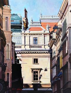 헝가리 부다페스트의 오후 Afternoon of budapest, Hungary