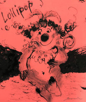 Judy with lollipop