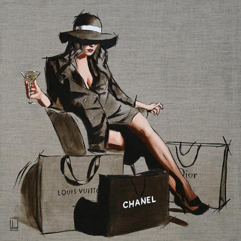 Handbags and Glad Rags Sketch