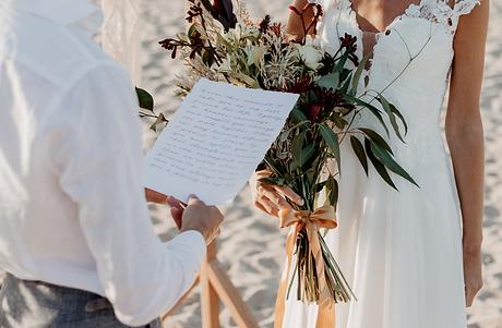 Destination Wedding vows