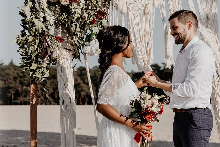Couple On Destination Wedding At Switzerland