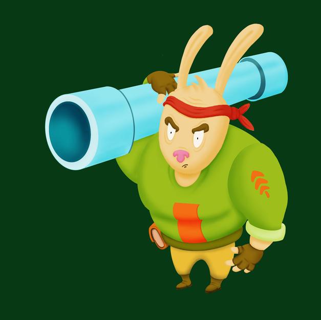 Rabbit Soldier
