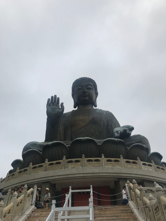 The Big Buddha - Lantau Island