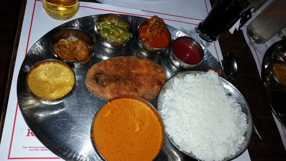 FISH THALI @ RITZ