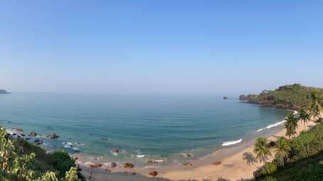 The pristine glory in South Goa - Cabo de Rama & Cola beach.