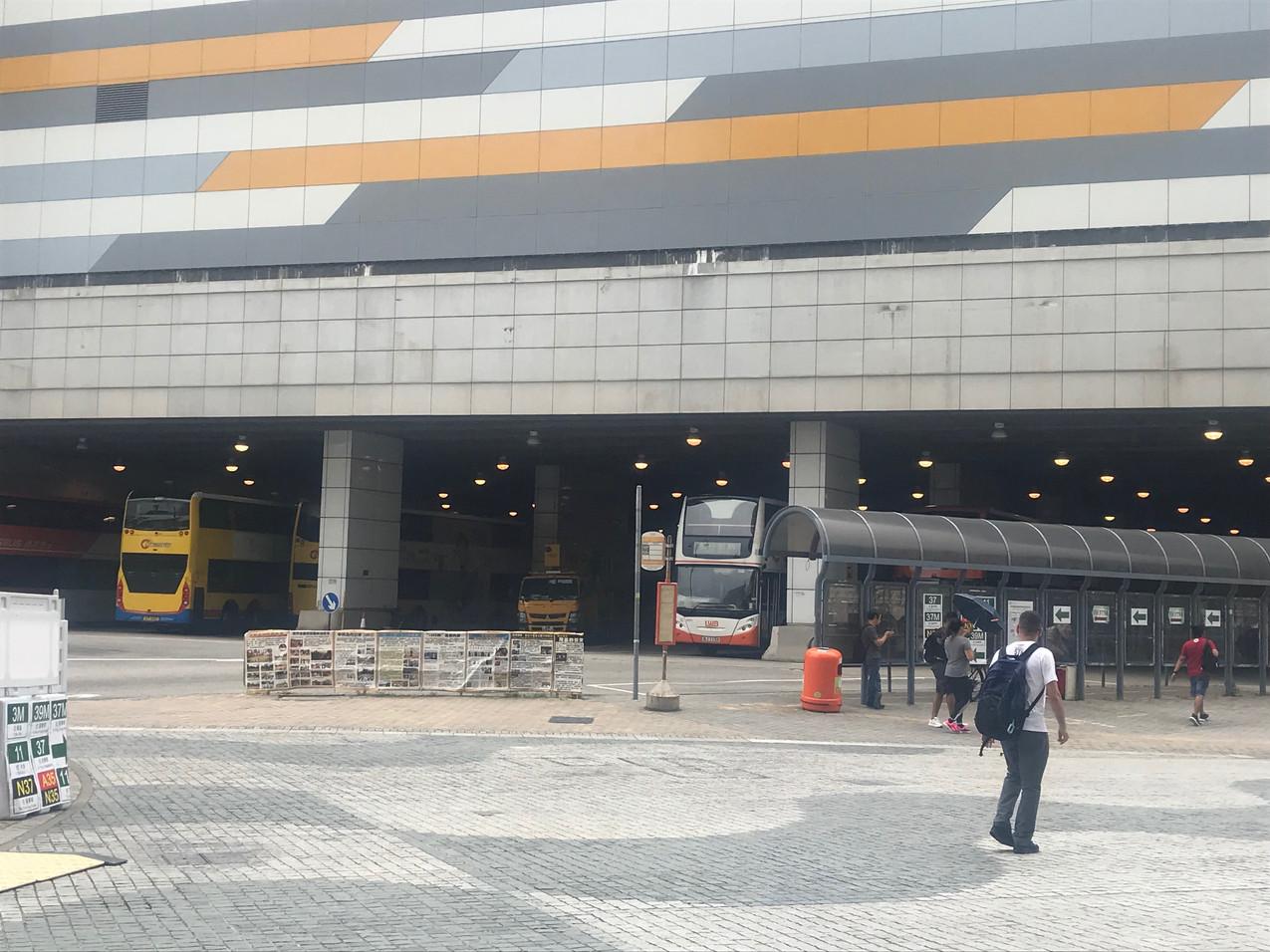 The Bus Terminal at Tung Chung