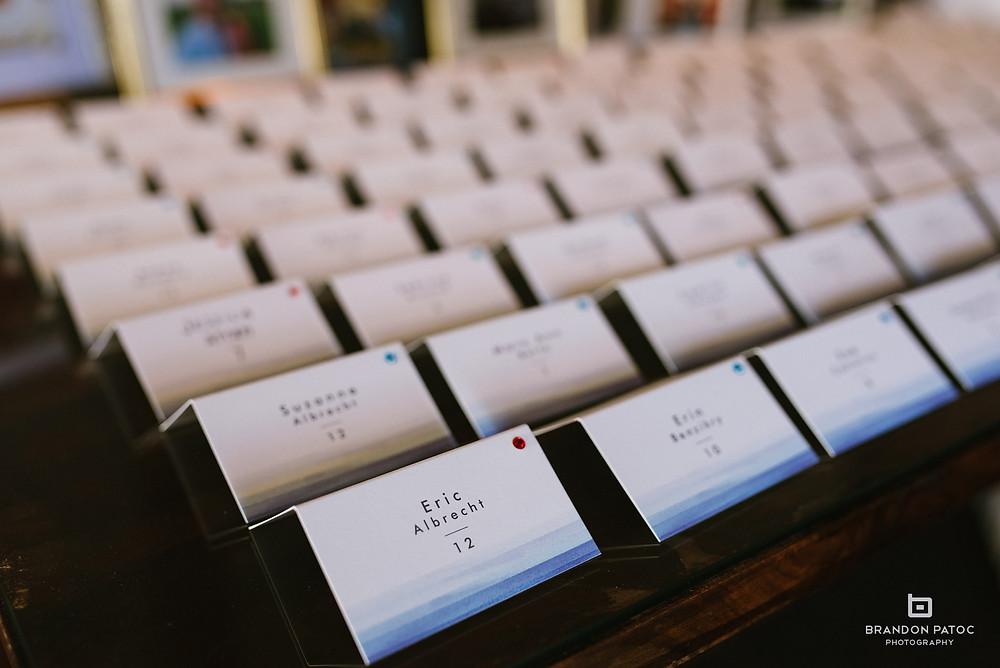 escort card ideas, place card ideas