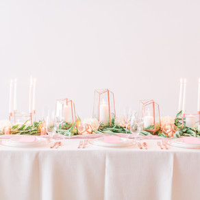 Copper & Blush Modern Romantic Wedding Inspiration