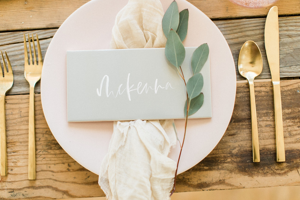 wedding place card, unique place card ideas