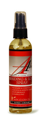 Ashea Braiding & Lock Spray 4 oz.
