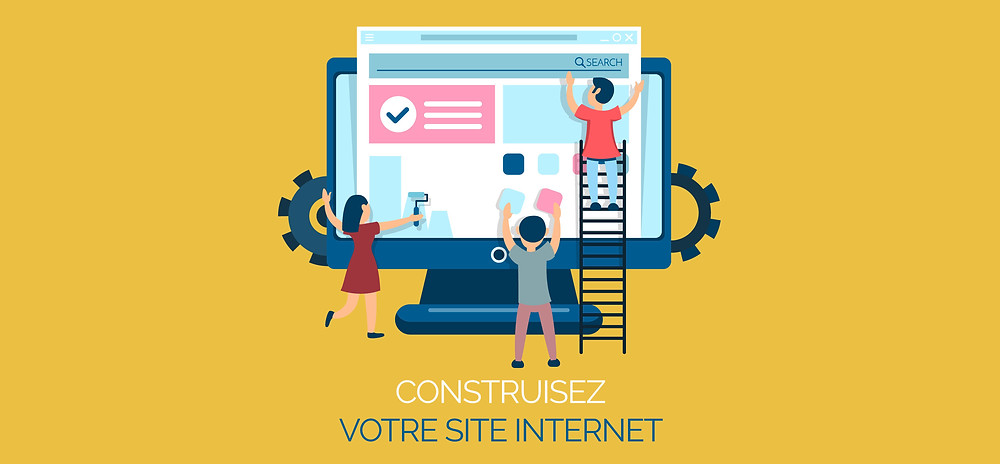 Construisez votre site internet