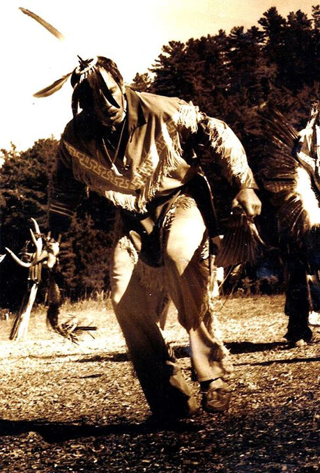 1st Nation Indians - Ontario, Canada 2000__Willy danced for three days and nights stopping _rarely for food and drink.jpg