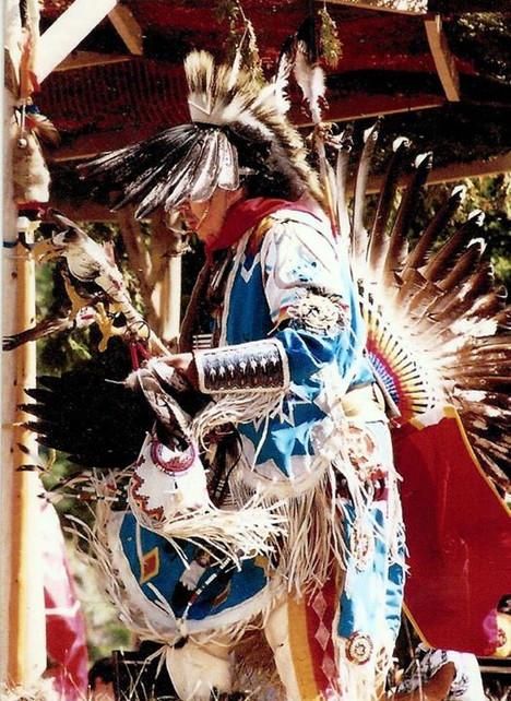 1st Nation Indians - Ontario, Canada 2000__Louisa Helen Johnson - Artist  Copyright 2000