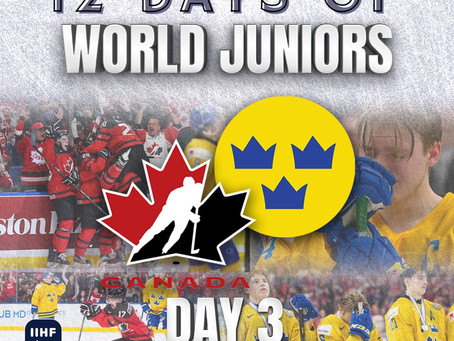 12 Days of World Juniors: Day 3 - Canada's gold, Lias Andersson medal toss, 2018 Buffalo