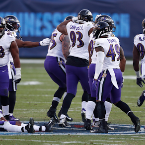 Ravens soar into Divisional round after defeating the Titans