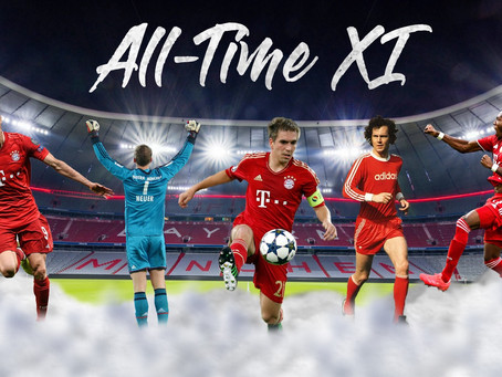 Bayern Munich all-time starting XI