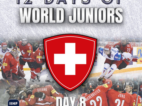 12 Days of World Juniors: Day 8 - Nino Neiderreiter and Switzerland knock off Russia, 2010 Saskatoon