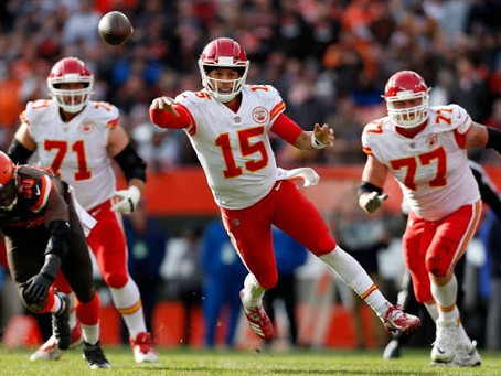 Chiefs survive Mahomes' exit to defeat Browns in thriller