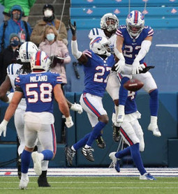 Colts comeback bid falls short as Bills win first playoff game in 25 years