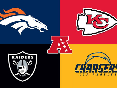 2020 AFC West Predictions and MVP's/Prospects