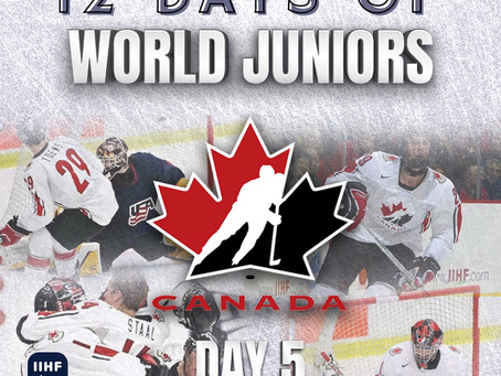 12 Days of World Juniors: Day 5 - Jonathan Toews shootout glory, 2007 Leksand