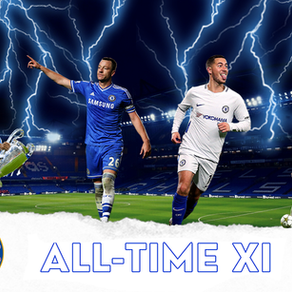 Chelsea FC all-time starting XI