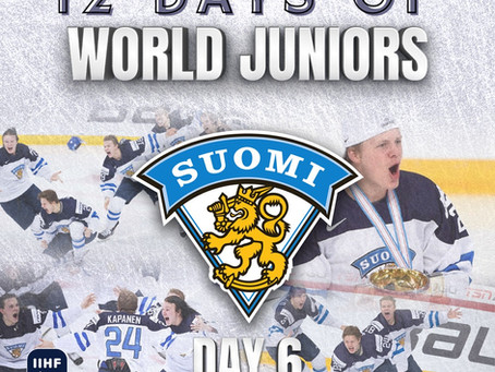 12 Days of World Juniors: Day 6 - Kasperi Kapanen golden goal, 2016 Helsinki