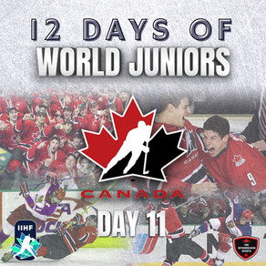 12 Days of World Juniors: Day 11 - Double Dion, 2005 Grand Forks