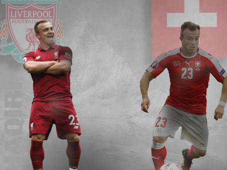 For The Culture: Xherdan Shaqiri