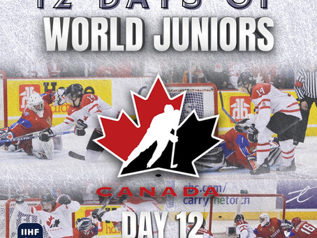 12 Days of World Juniors: Day 12 - Jordan Eberle's golden goal, 2009 Ottawa