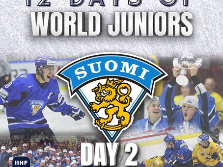 12 Days of World Juniors: Day 2 - Rasmus Ristolainen Golden Goal, 2014 Malmö