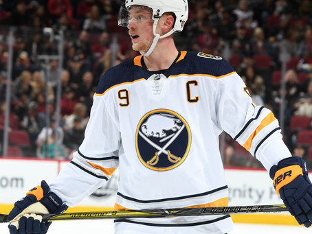 Jack Eichel is 'fed up with the losing' after Buffalo's season comes to an end