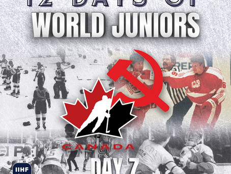 12 Days of World Juniors: Day 7 - The Punch-up in Piešťany, 1987 Piešťany