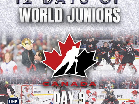 12 Days of World Juniors: Day 9 - Akil Thomas and Canada's gold medal comeback, 2020 Ostrava