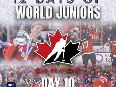 12 Days of World Juniors: Day 10 - McDavid and the boys, 2015 Montreal/Toronto