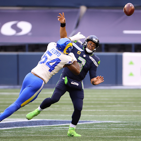 Rams defence carries them past the Seahawks into the Divisional round