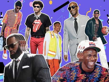 """Came through drippin"": The history of the NBA's best dressed"