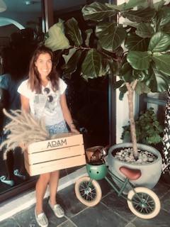 Adam Wooden Crate