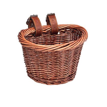 Bicycle wicker basket