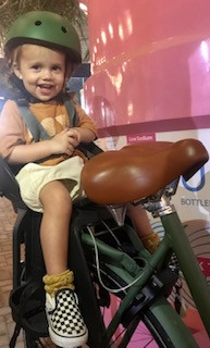 The Kids Helmet & Rear Seat
