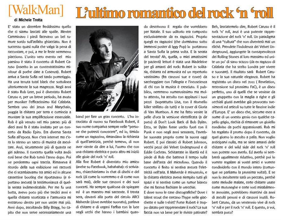 Fatti Al Cubo article, 2012.jpg