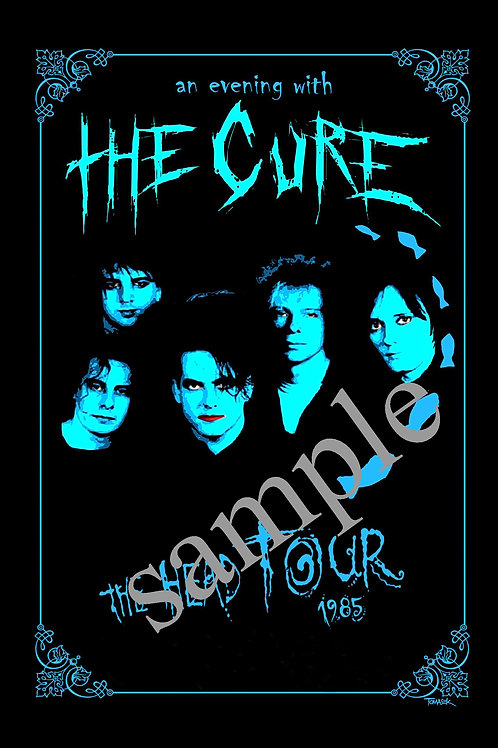 THE CURE - CONCERT POSTER