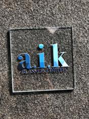 AIK Glass, southend, leigh-on-sea, Brand