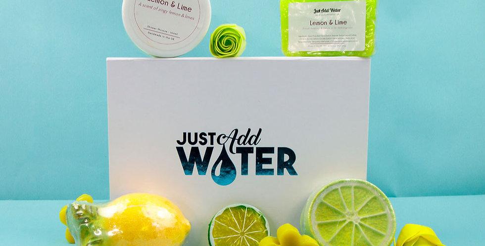 Lemony Lime Bath Box
